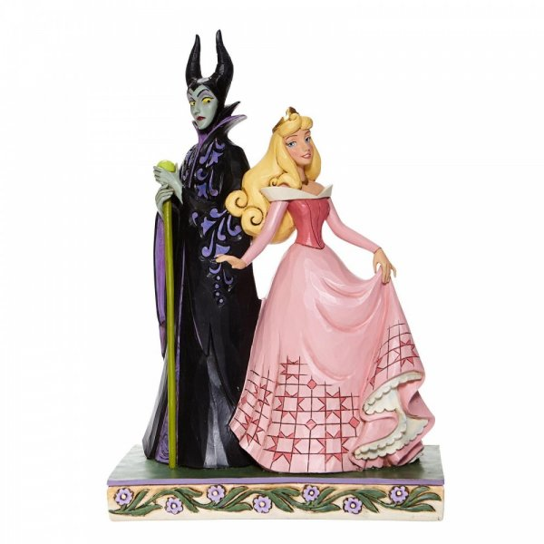 Disney Traditions Sorcery and Serenity - Aurora and Maleficent Figurine