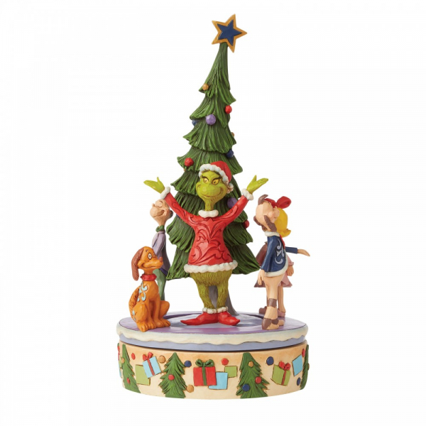 Jim Shore The Grinch Rotator Figurine - The Grinch by Jim Shore  - 6008885