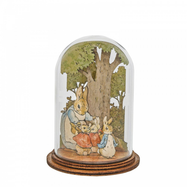 Mrs. Rabbit with Flopsy, Mopsy, Cotton Tail and Peter Wooden - A30461