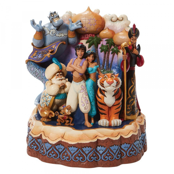 Disney Traditions Aladdin Carved By Heart - 6008999