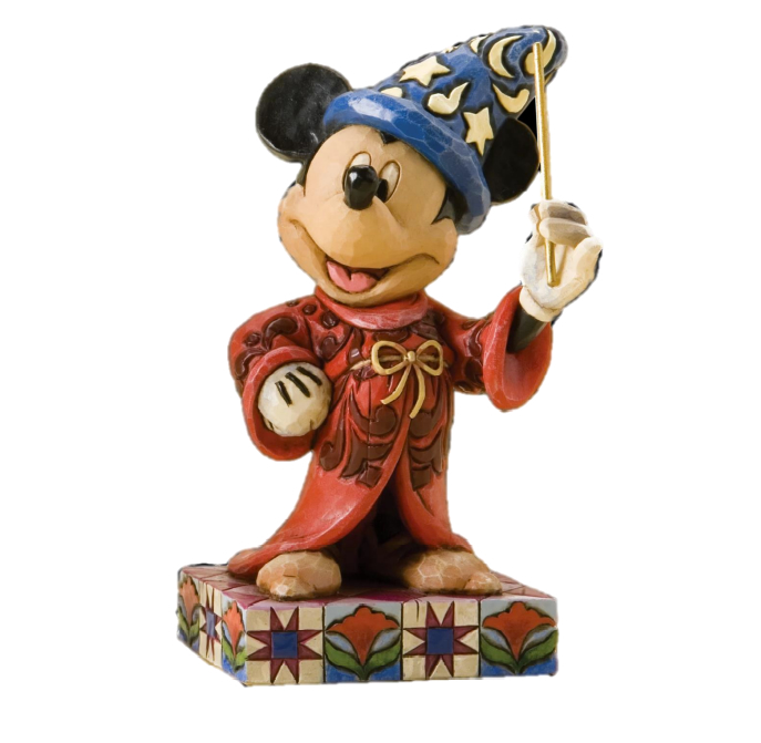 Jim Shore Disney Traditions A Touch of Magic  (Mickey Figurine)