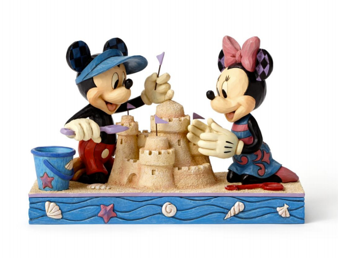 Jim Shore Disney Traditions Seaside Sweethearts (Mickey and Minnie Figurine)