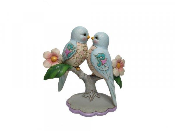 Jim Shore Heartwood Creek Perfect Harmony (Lovebirds Figurine)
