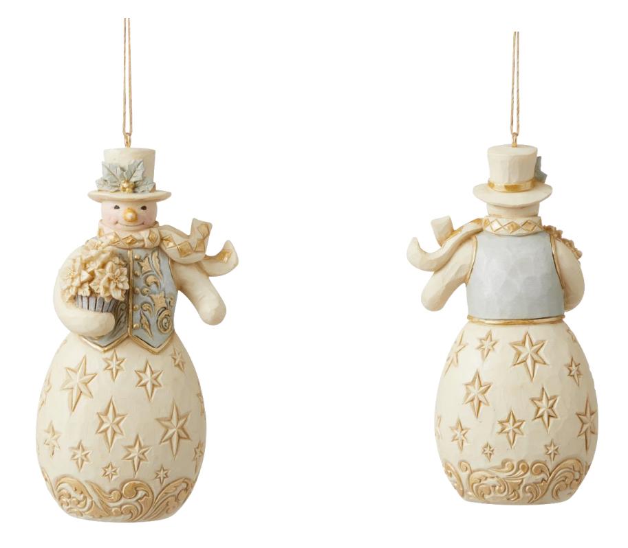 Heartwood Creek Snowman Hanging Ornament - 6009401