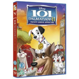 Disney 101 Dalmatians 2 Patches London Adventure DVD