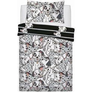 101 Dalmatian Single Duvet with Pillow Case - 1105