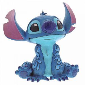 Disney Traditions Big Trouble (Stitch Statement Figurine)