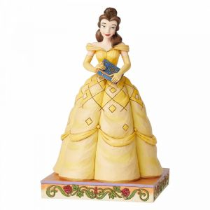 Disney Traditions Book-Smart Beauty (Belle Princess Passion Figurine)
