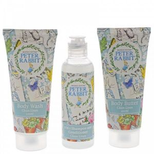 (GIFT WITH PURCHASE) Peter Rabbit Clean Linen Travel Set - A29645 - Minimum Spend £15