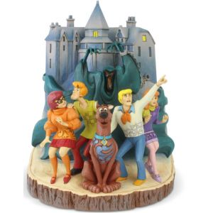 Jim Shore Scooby Doo Frightful Friends (Scooby Doo Carved By Heart) - 6005978