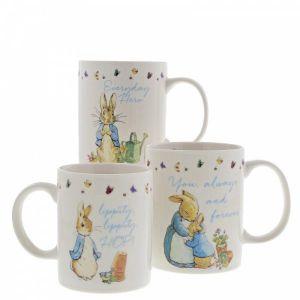 Beatrix Potter Peter Rabbit Mug Set