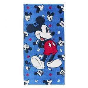 Blue Disney Mickey Mouse Cotton Towel