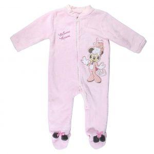 Disney Childs Minnie Mouse Onsie Fleece
