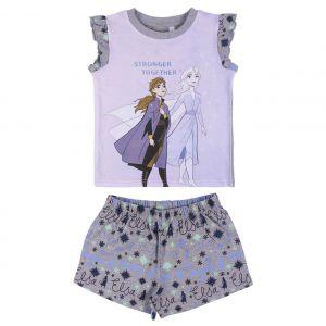 Disney Frozen 2 Single Jersey Short Pyjamas