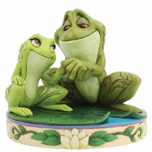 Disney Traditions Amorous Amphibians (Tiana and Naveen as Frogs Figurine)