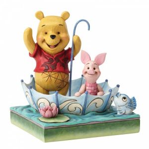 Disney Traditions 50 Years of Friendship (Winnie the Pooh and Piglet Figurine)