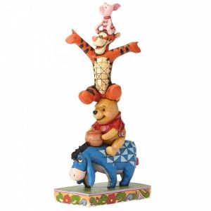 Disney Traditions Built By Friendship (Eeyore, Pooh, Tigger and Piglet Figurine)