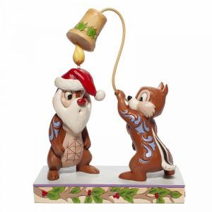Disney Traditions Christmas Chip 'n Dale Figurine