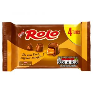 12 x Rolo Chocolate Multipack 4 Pack 167g