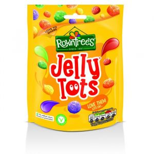 10 x Rowntree's Jelly Tots Sweets Sharing Pouch 150g