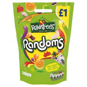 10 x Rowntree's Randoms Share Pouch 120g £1 PMP