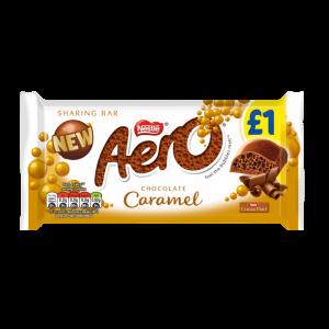 15 x Aero Caramel Sharing Bar 100g