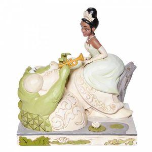Disney Traditions Bayou Beauty - (White Woodland Tiana Figurine)