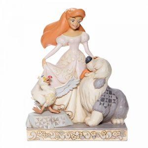 Disney Traditions Spirited Siren -White Woodland Ariel Figurine - 6008066