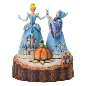 Disney Traditions Magical Transformation (Carved by Heart) Cinderella and Godmother - 4037503