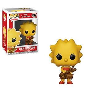 Funko 33877 POP Animation: Simpsons-Lisa-Saxphne