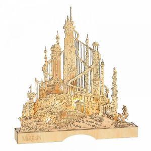 Disney Flourish King Triton's Illuminated Palace - 6011061