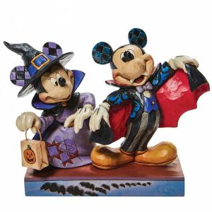 Disney Traditions Mickey as a Vampire and Minnie as a Witch - 6008989