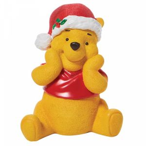 D56 Christmas Winnie The Pooh Figurine - 6007132