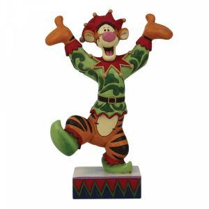Disney Traditions Tigger Dressed as a Christmas Elf - 6008983