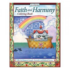 Jim Shore Faith and Harmony Colouring Book