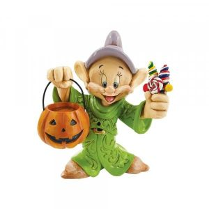 Disney Traditions Cheerful Candy Collector - Dopey Trick-or-Treating Figurine