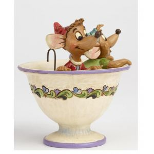 Jim Shore Disney Traditions Tear for Two (Jaq and Gus Figurine)