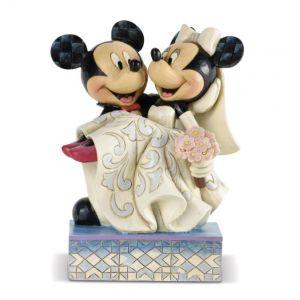 Jim Shore Disney Traditions Congratulations (Mickey & Minnie Figurine)