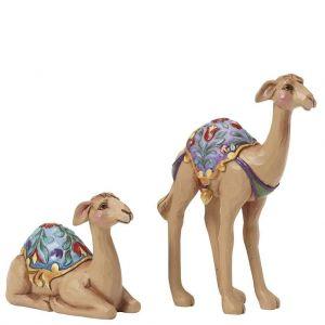 Heartwood Creek Mini Camels Set of 2 - 4041089