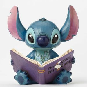 Disney Traditions Stitch with Storybook - Finding Family - 4048658