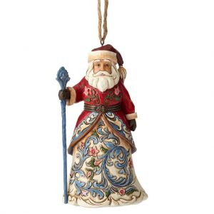 Heartwood Creek Norweigian Santa Hanging Ornament - 4053839