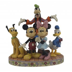 Jim Shore Disney Traditions Fab Five (Mickey and Friends Figurine)