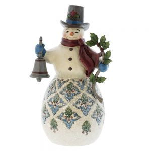 Heartwood Creek Bright and Merry Victorian Snowman - 4058753