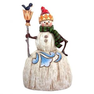 Heartwood Creek Folklore Snowman with Broom - 4058767