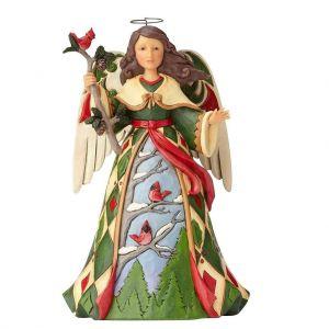 Heartwood creek Green Angel with Cardinal - 4058799