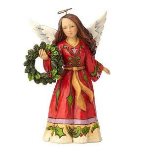 Heartwood Creek Angel With Wreath - 4058806