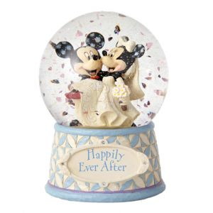 Jim Shore Disney Traditions Happily Ever After (Mickey and Minnie Waterball)