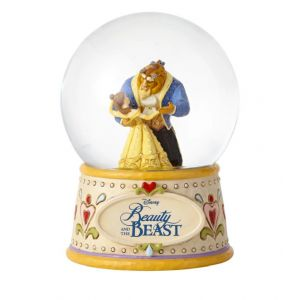 Jim Shore Disney Traditions Moonlight Waltz (Beauty and the Beast Waterball)