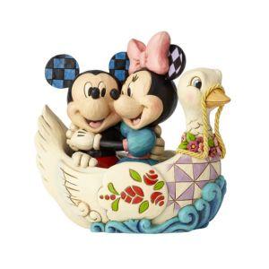 Jim Shore Disney Traditions Lovebirds (Mickey and Minnie Figurine)