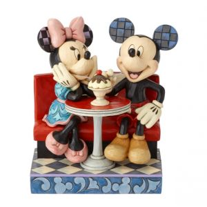 Jim Shore Disney Traditions Love Comes in Many (Mickey and Minnie Figurine)